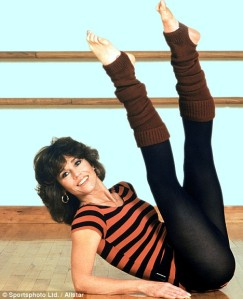 Leg warmers were also very 80s.