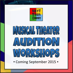 Audition workshops