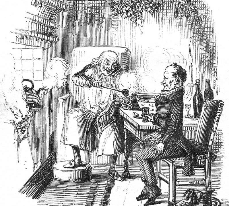 Christmas Carol Scrooge Drawing.Some Christmas Carol History Nbyt